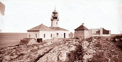Faro de Cullera en 1910