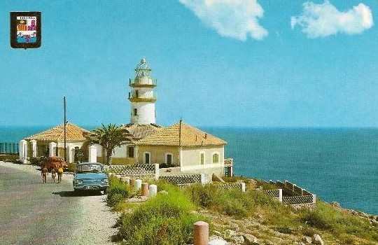 Faro de Cullera en los 50