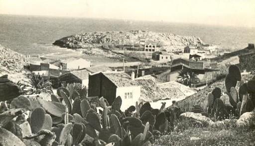 Isla Pensamientos década 40 s.XX
