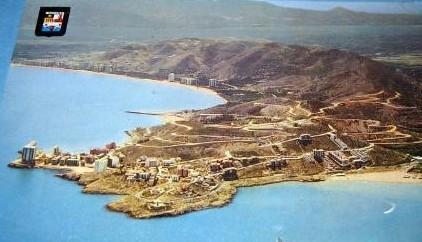 Cabo de Cullera sobre principios de los 70 siglo XX