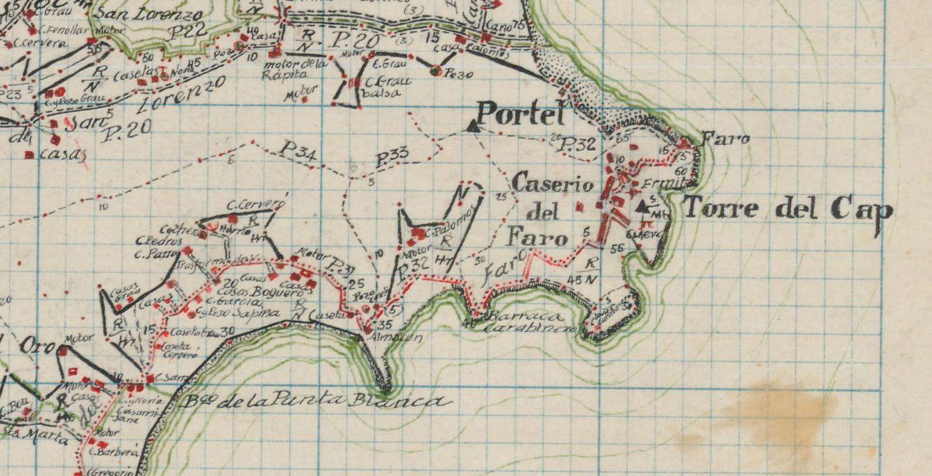 Mapa-Faro-Cullera-1943