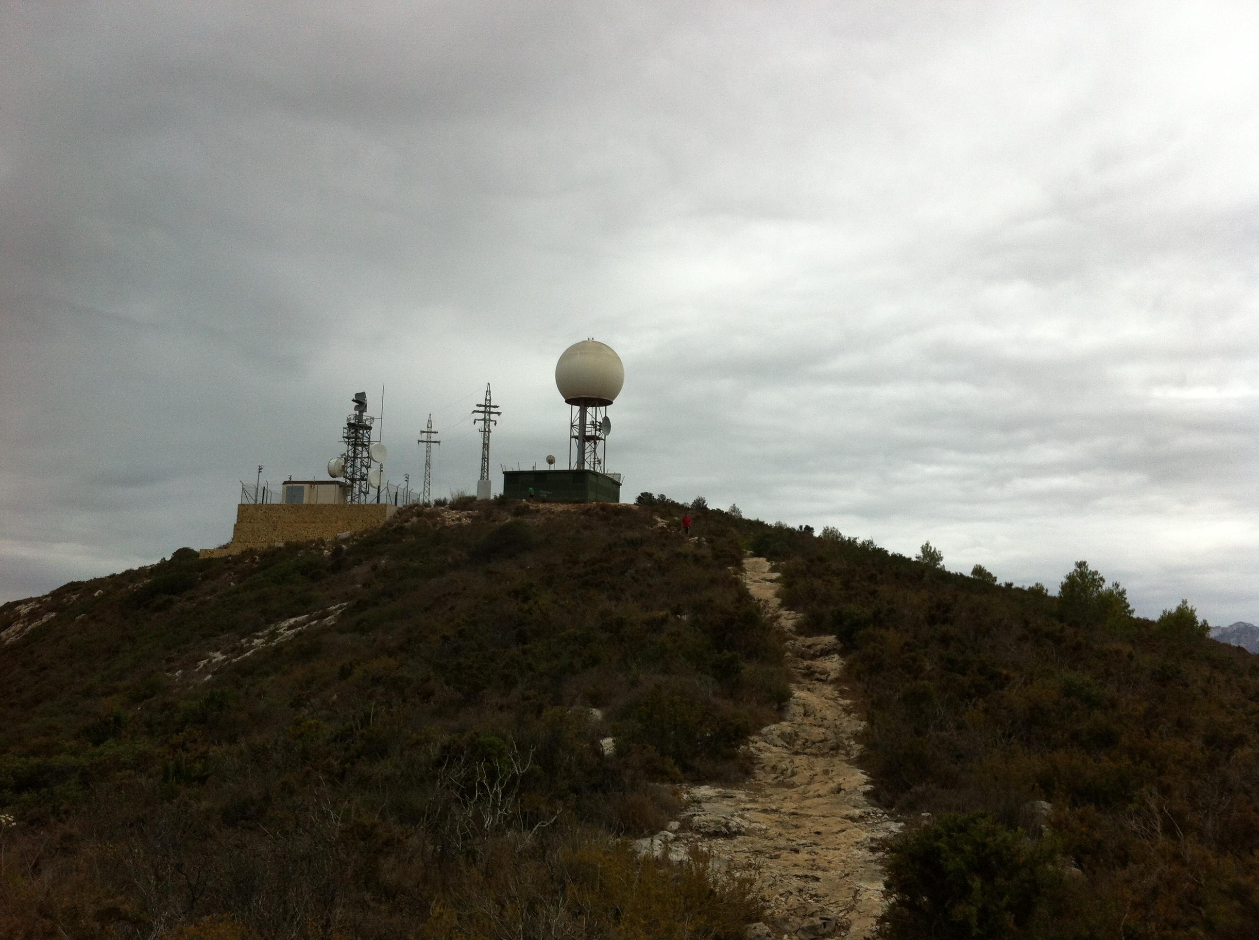 Radar montaña de Cullera