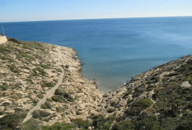 Cala Rocosa Faro de Cullera -