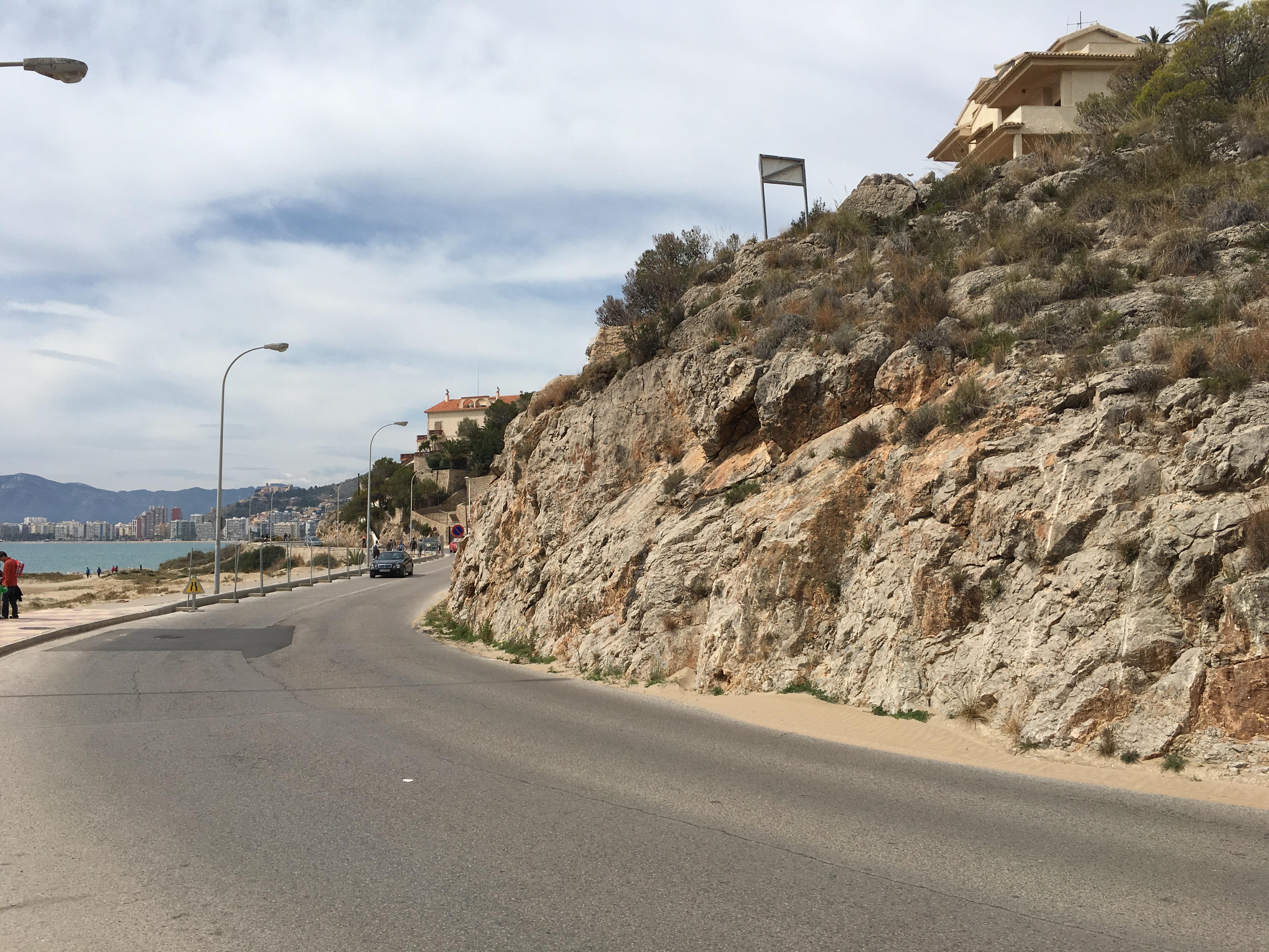 Carretera Cullera al Faro