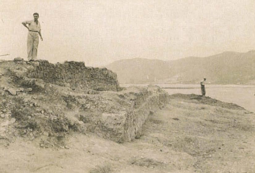 Enrique Pla yacimiento punta illa Cullera