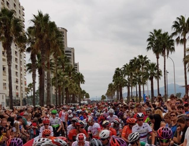 Cullera Salida Vuelta Ciclista a España
