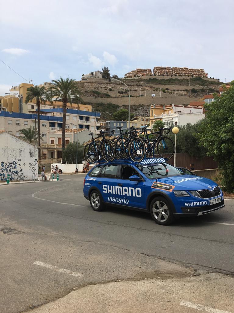Faro de Cullera Vuelta ciclista a España