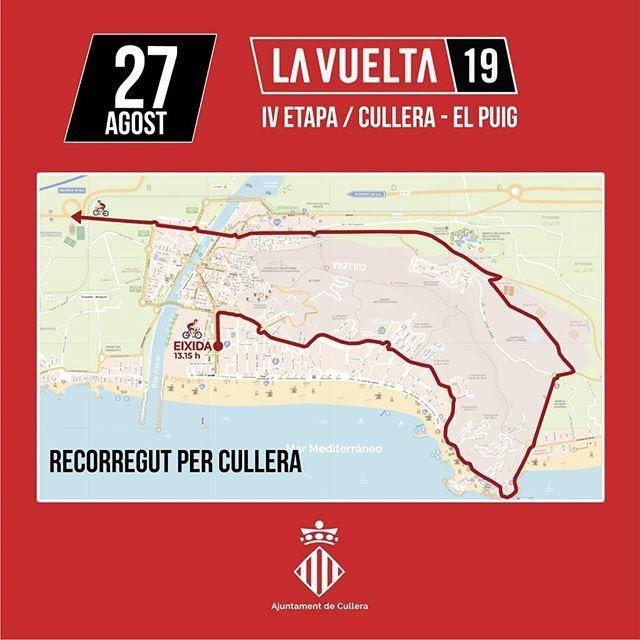 Recorrido Vuelta Ciclista por Cullera