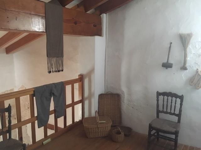 Interior casa labranza museo del arroz Cullera