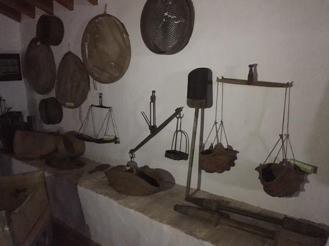 Interior museo del arroz Cullera