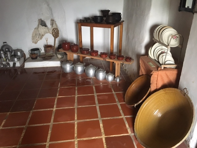 Utensilios casa en museo del arroz