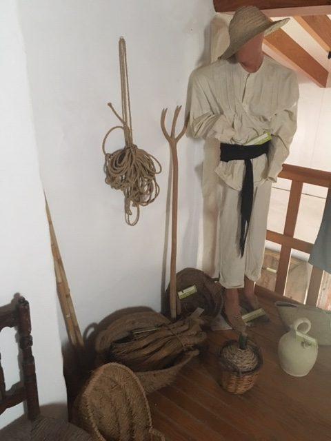 Vestuario arroceros museo del arroz Cullera