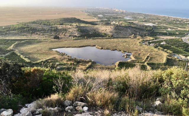Bassa de Sant Llorenç de Cullera en Otoño