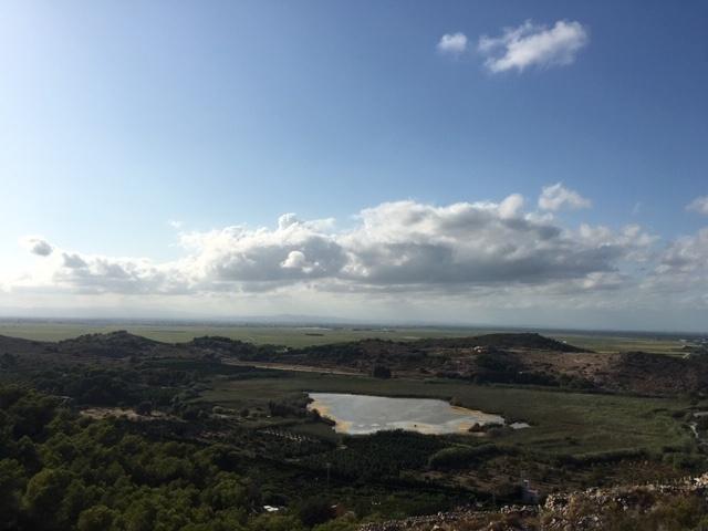 Bassa de Sant Llorenç y al fondo la Albufera