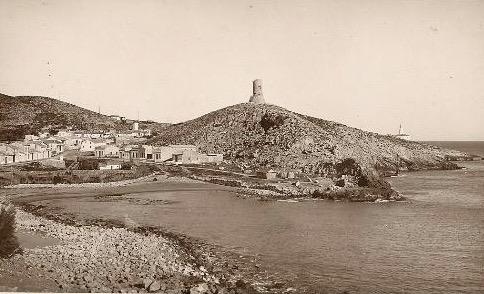 Cala del Faro con Torre del Cap de Cullera