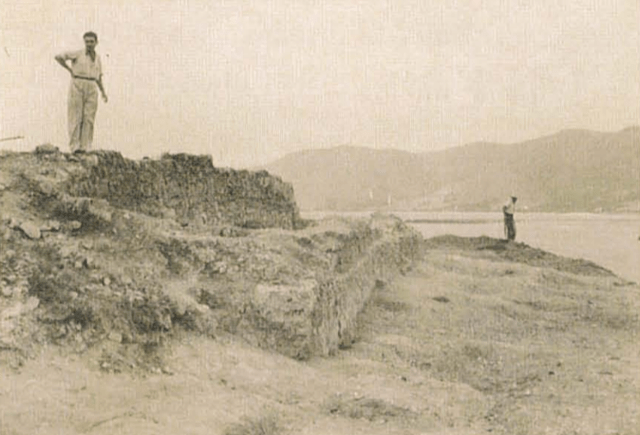 Excavación arqueológica en la isla de los Pensamientos. de Cullera