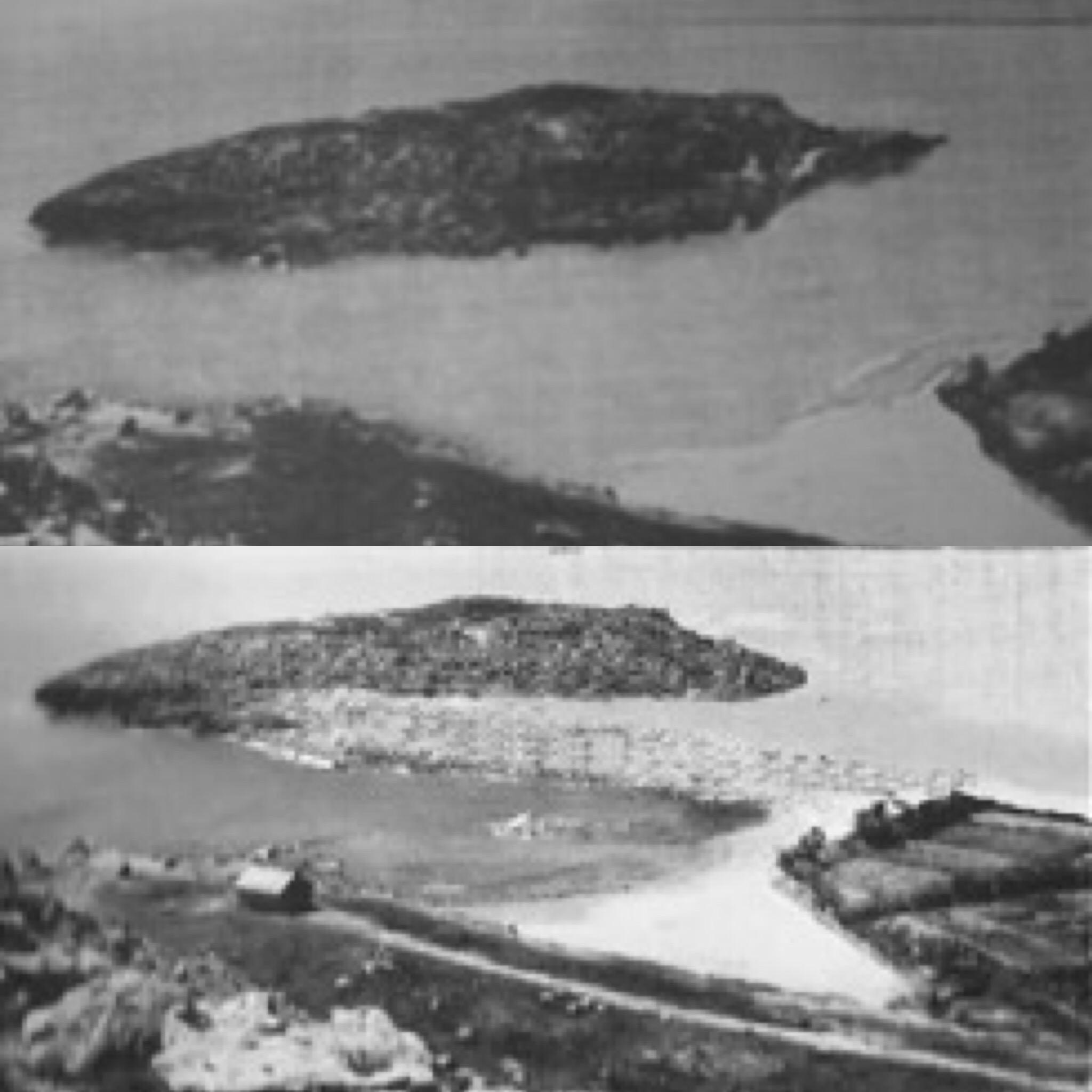 Proceso de unión de la isla de los Pensamientos con la costa de Cullera