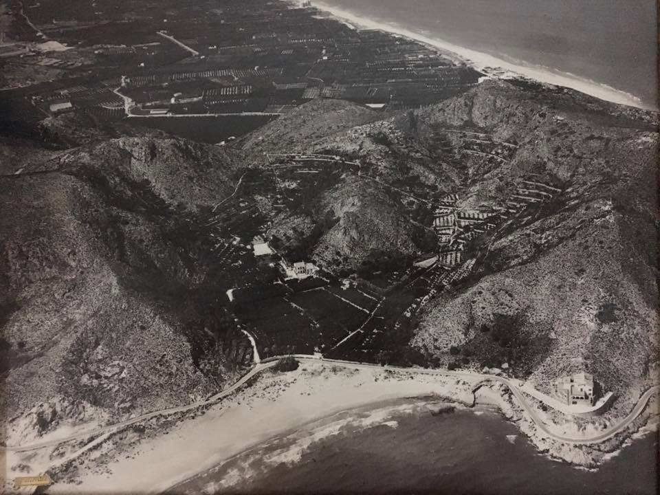 Fotografía antigua del Cap Blanc de Cullera