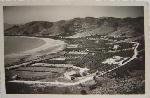 Bahía de los Naranjos y la playa del Racó de Cullera.