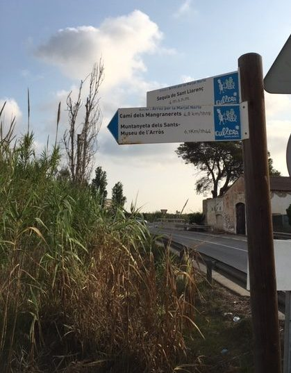 camino acequia de Sant Llorenç
